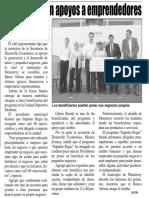 07-09-17 Entrega Adrián apoyos a emprendedores