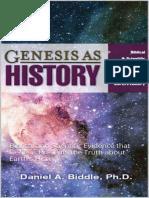 Genesis as History_ Biblical an - Daniel Biddle