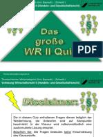 WR II 1617 - Quiz