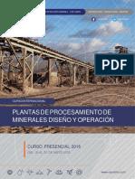 Brochure Plantas de Procesamiento de Minerales Diseno y Operacion