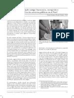 Lectura No. 04 Doble a Triple Castigo Burocracia, Corrupción e Inequidad en Los Servicios Públicos en El Perú