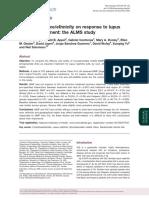 Influence of race/ethnicity on response to lupus nephritis treatment