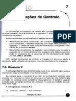 UC PIC - Programacao Em C Cap-7 Declarações de Controle