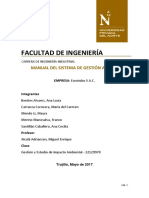 Manual Del Sistema de Gestión Ambiental