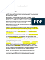 Notas Estructurales DLR