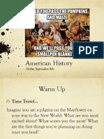 fri sept 8 american history
