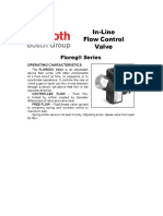 Rexroth Aventics in Line Flow Valve