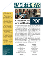 September 2017 Cleburne Chamber of Commerce News