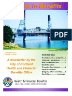 Bridges to Benefits Newsletter September 2017