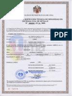 15 10 21 Certificado de Inspeccion Tecnica de Seguridad en Defensa Civil de Detalle