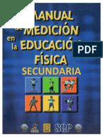 Manual de Medición en La Educación Física SECUNDARIA