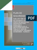 Plan de Seguridad i.e. 84045 Huacrachuco