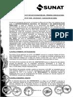 Contrato N° 528-2015-SUNAT Ejecución de Obra Refacción del Archivo Sede Central San Luis