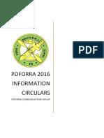 2016 Info Circulars