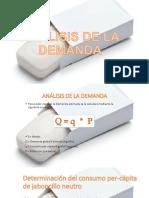 Analisis de La Demanda Jaboncillo Neutro