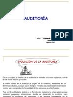 Auditoría Evolución Concepto 1