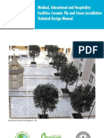 LATICRETE Medical, Educational and Hospitality Facilities Technical Design Manual