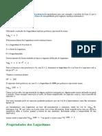 Logaritmo - Matemática Didática