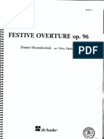 Festive Overture Op 96 (Concert d Shostakovich)