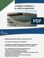 TEMA 6. Tratamiento Ecologico-bajo Costo
