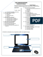 Evaluaciones Sistemas 1,2,3,4,9