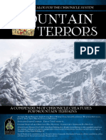 Mountain Terrors - Introduction