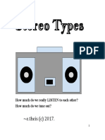 stereo types by e theis