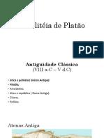 Apresentação de Slides- PLATÃO