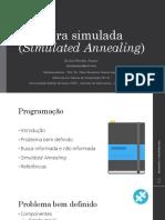 Simulated Annealing - Têmpera Simulada
