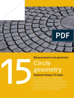 Chapter 15 Circle Geometry