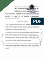 Convenio de constitución del Frente Ciudadano por México
