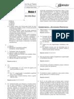 Biologia - Caderno de Resoluções - Apostila Volume 1 - Pré-Vestibular bio3 aula04