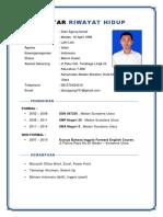 CV DAFTAR RIWAYAT HIDUP untuk lamaran perusahaan