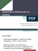 Diagnóstico Diferencial en Ataxias