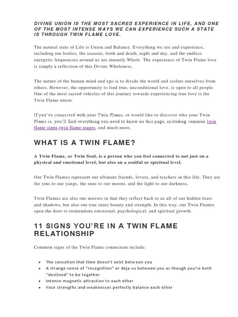 Twin Flames | Soul | Yin And Yang