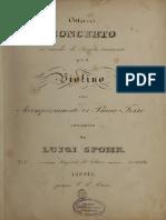 Ottavoconcertoin00spoh Vn Concerto 8 Op47