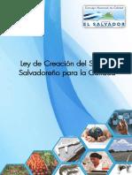 Ley de Creación Del Sistema Salvadoreño Para La Calidad