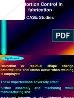 Distortion WELDING