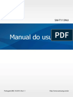Tablet Samsung SM T113NU Rev.1.1 Emb BR