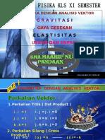 Kinematika Dengan Analisis Vektor 1