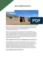 Atractivos Turísticos en Paruro
