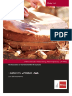 F6 Taxation (ZWE) Study Text