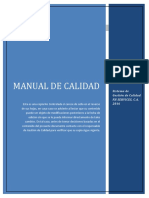 Manual de Calidad Fh en Revision