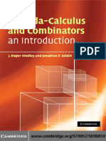 Lambda-Calculus and Combinators