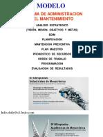 Modelo Administrativo, Analisis Estratégico