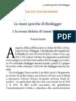 Rastier - Le mani sporche di Heidegger.pdf
