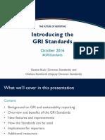 Introducing the Gri Standards Presentation