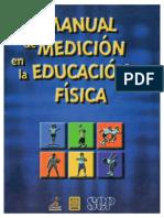 Manual de Medición en La Educación Física