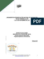 Lineamientos Intensificación Noviembre 2017