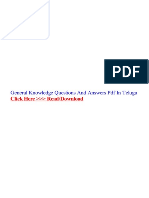 general-knowledge-questions-and-answers-pdf-in-telugu pdf